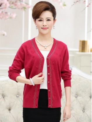 Áo len trung niên Hàn Quốc TA290