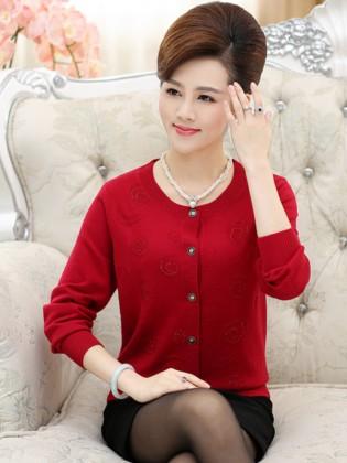 Áo len trung niên Hàn Quốc TA293