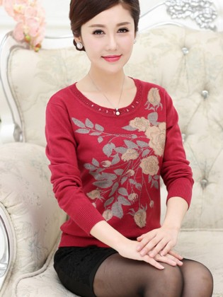 Áo len trung niên Hàn Quốc TA295