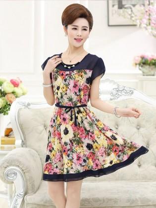Váy xòe trung niên TNVDDY0002