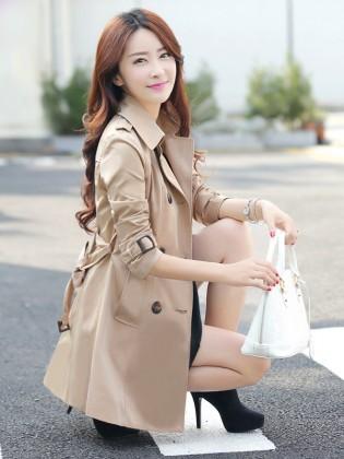 Áo măng tô Hàn Quốc TA244